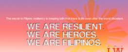 Open Letter to Resilient Filipinos
